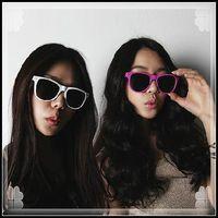 Free shipping Fashion vintage t04 male Women meters sunglasses glasses frame meters sunglasses non-mainstream