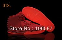 24 Different Colors Air Kanye West Yeezy 2 Glow In Dark Red October Men's Basketball Sport Footwear Sneaker ( 18 - 18 Colours)