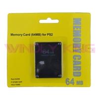 10pcs a lot 64MB Memory Card for PS2