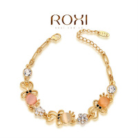 2014ROXI brands women  Bangles,fashion women jewelry,Chinese style,Austrian crystal,Chrismas/Valentine's Day gifts.2060018540A