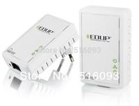 New EDUP 200Mbps Powerline PLC Network Adapter HomePlug Ethernet Bridge