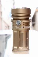 SKYRAY KING Super Bright Gold 5000 Lumen 3x CREE XML XM-L T6 Torch Flashlight Light Lamp Torch Lantern