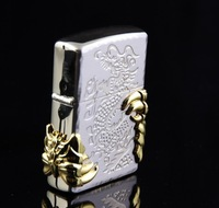 STAR Gold Alondra The Flintstones Cotton Core Kerosene Lighter CJ253
