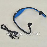 4 Colors Portable Sport Wireless Headset Ear loop Headphones Micro SD/TF Card FM Radio Music MP3 Player Hot Sale