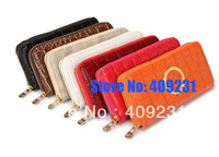 2013 wholesale 1pcs Leather pu Michaels Zipper Wallet Purse with dsigner Case for iphone 4 4S 5 for Samsung Galaxy S3 Emboss