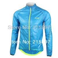 New Men's Outdoor Sports Multi-fucntion UV Protection Wind Coat Jacket Blue
