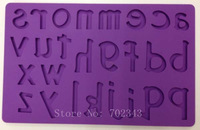 Silicone Cake Mold 26 Alphabets/Letters Shape Fondant&Gum Paste Mold Decorating