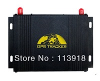 Free Shipping by singapore post ! GPS107 Vehicle GPS Tracker with anti-theft alarm SMS or internet tracking TK107A