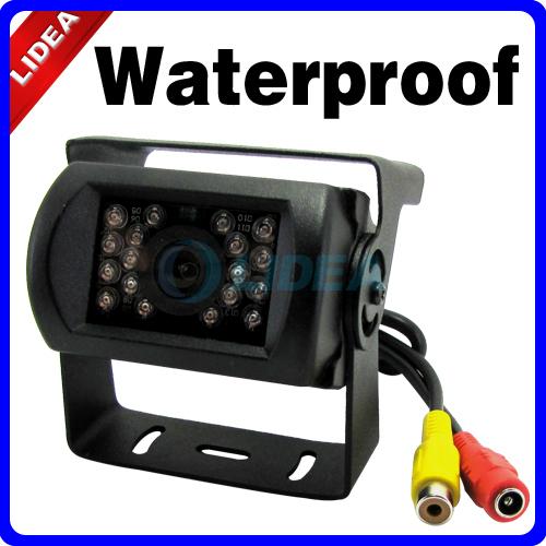 Car Rear View Cam Waterproof Back up Night Vision Camera EMS QS-09(China (Mainland))