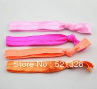 Korean children hair accessories High elasticity Elastic Tousheng Rubber band Elastic hair rope Headband 50pcs/lot xth035