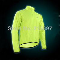 New Men's High Quality Multi-fucntion UV Protection Wind Coat Jacket For Outdoor Sports Fluorescent Green