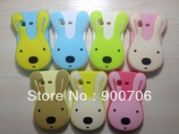 cute rabbit silicone case for samsung galaxy s5300 1pcs silicone case for samsung galaxy s5300