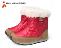 2013 Fashion Winter Snow Boots For Girls Warm and Skidproof Cotton-padded Shoes For Female Child Kids Size14-19