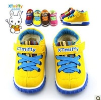Winter Warm Children Thickening Cotton-padded shoes Sneakers Boys and Girls Kids For 1-9years old