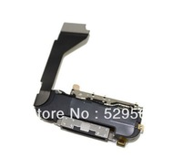 100%Original For iPhone 4g  Charger Flex Assembly w/ Mic Antenna Speaker  Free Shipping 10PCS/lot