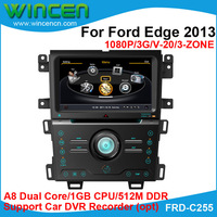 A8 Dual Core 1080P Car DVD GPS Player for  Ford Edge 2013 Car GPS for Ford Edge  Car Navigation for Ford Edge