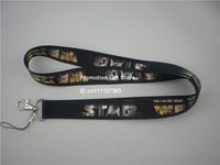 Star Wars Polyester Lanyard, Cell Phone Strap with Metal Buckle,Thermal transfer Lanyard, Black Colour, 35pcs/Lot, Free Shipping