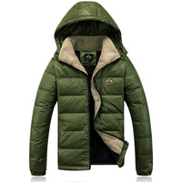 2014 Winter Fashion CTMP Brand High Quality Men's Duck Down Army Green Jacket Coat Parkas Outwear Super Warm Free Shipping