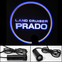 Car LED Door Lights For Land Cruiser Prado Toyota Car LOGO Door Prejection Auto Shadow Light Laser Lamp Free HK Post