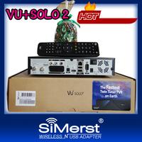 vu solo original Linux system decoder 1300 MHz CPU 2 dvb-s2 tuner vu+ solo2 hd satellite receiver free DHL/UPS/FEDEX shipping
