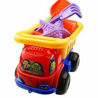 New 6Pcs/Set Truck Spade Set Of Seaside Sand Playing Tools Pit Beach Toy Set Educational Children Kids Toys Set Gift