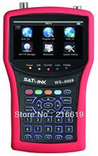 Satlink WS6959  DVB-S/DVB-S2 &DVB-T/DVB-T2 COMBO Satellite Finder Satellite meter