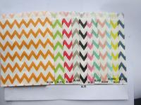 Disposable paper bag oil disposable snack paper bag 11 wave color