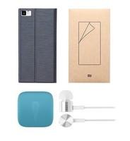 Free shipping xiaomi M3  Pratical accessories kit (Bobbin winber+phone case+earphone+screen film)-4911
