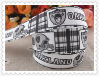 "2013 new arrival 7/8"" (22mm) sports printed grosgrain ribbons man ribbon satin ribbon 10 yards"