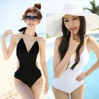 New design Triangle one piece swimwear / sexy swimsuit /Sweet girl  beach dress