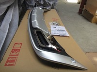 2011-2012 KIA Sportager High quality plastic ABS Chrome Front+Rear bumper cover trim,Free shipping