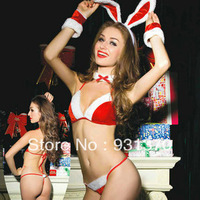 Sexy Christmas six-piec set Costumes Wholesale, Bad List Christmas Lingerie Chemise