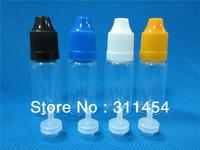 2013 hotsale 10ml PET needle tips plastic dropper bottle, eliquid bottle 10ml