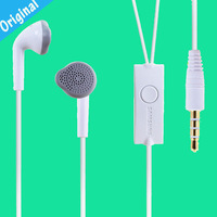 Original White Headset Headphones Earphone For Samsung Galaxy Ace S5830 I9100 I9300 Galaxy Note S2 S3 Free shipping