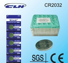 Z08001-5PCS CR2032 Lithium Button Cell Coin battery 2032 3v for  for watches toys computer motherboards remote control(China (Mainland))