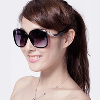 Women's sunglasses fashion sunglasses female elegant anti-uv sunglasses female fashion