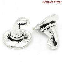 Ювелирная подвеска 35PCs Lady Headgear Charms Pendants Beads 13*19mm