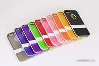 TPU Protective Case with Holder braket stand case cover for iphone 5 Free shipping