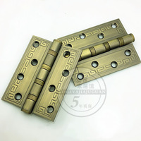 Chinese wooden door hinge stainless steel bearings silencer 3mm