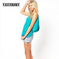 Free Shipping!!2013 New Racerback Placketing Fashion Sexy Sleeveless Shirt T-shirt Women's Placketing Top