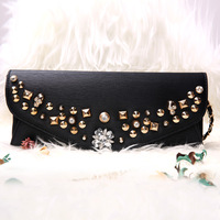 Bag women's handbag elegant fashion evening bag handbag messenger bag fashion all-match