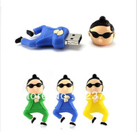 Free shipping Wholesales New Fashion Korea Star usb 2.0 memory flash stick pen thumbdrive
