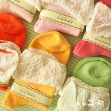 crochet sock promotion