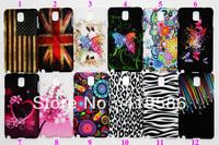 US UK Flag Butterfly Chrysanthemum Plum Flower Heart Zebra Leopard Meteor Star Plastic Cover for Samsung Galaxy Note 3 III N9000