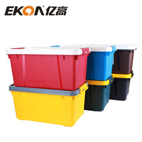 Ekoa glove box car storage box car dual storage box multifunctional dual-order box trunk glove