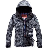 Burton snowboard dark color ski suit Men waterproof thermal skiing clothing outdoor skiing
