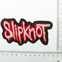 Diy fabric embroidery armband patch stickers punk adhesive slipcovers slipknot 100pcs/lot wholesale