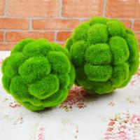 Estatuilla Cesped Artificial Turf Adornos Moss bola de plantas para la boda y Compras Decoracion comercial