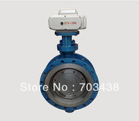 Free Shipping High Torgue Electric hard sealing  Butterfly Valve