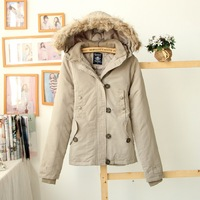 Free shipping Price women's winter cabbage with a hood down coat outerwear